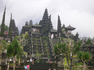 besakih the biggest temple in bali as the mother temple