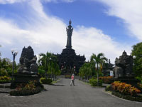 bajra sandhi monumentis the balinese people struggle monument