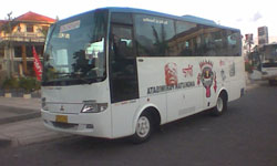 bus with maximal 28 seats
