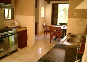 kitchen room at alam puri villa
