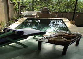 pool duplex villa at alam puri villa
