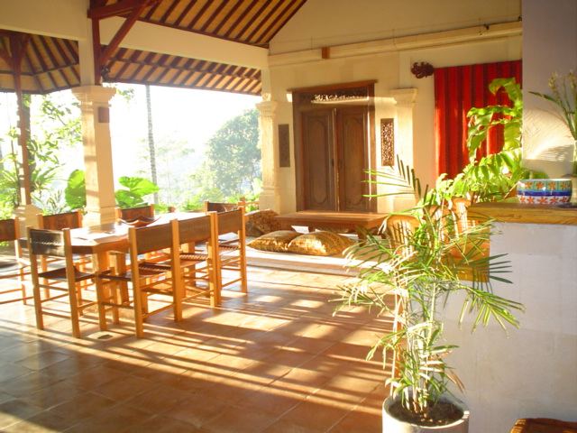 diningroom at alam sari hotel