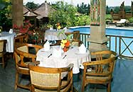 restaurant at bali agung villa