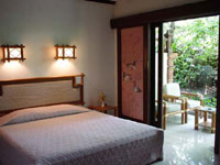 bedroom at candi beach