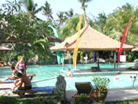 swimming pool at keratobali hotel