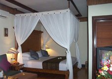 deluxe room at rama beach cottage
