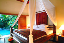 Bed Room 1 At The Jimbaran Bali Villa