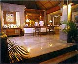 lobby at ubud village hotel