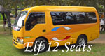 bali bus rental isuzu elf 12 seats
